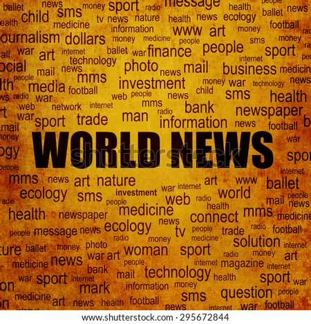 World news background