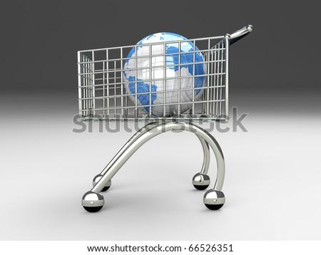 World Shopping - stock photo