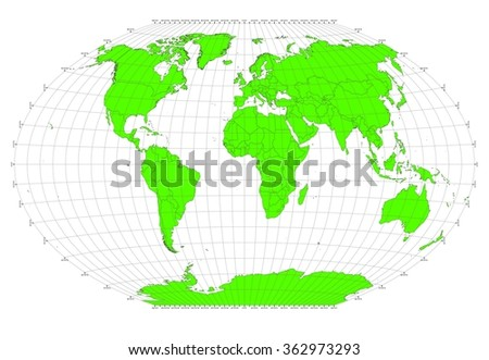 World sphere no labels gray grid stock illustration 362973293 world sphere no labels gray grid lines green countries publicscrutiny Gallery