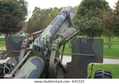 World War Artillery