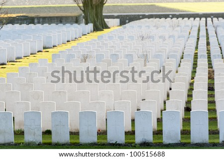 World war one cemetry