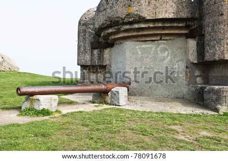 world war two bunker in normandy france