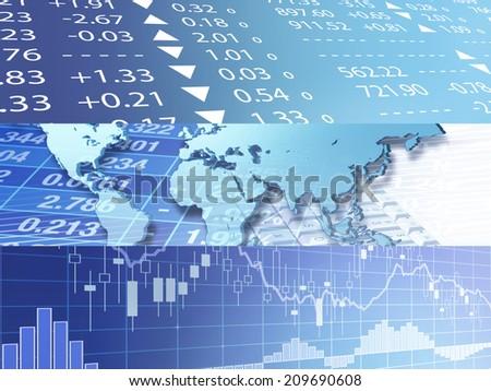 World Wide Marketplace - stock photo