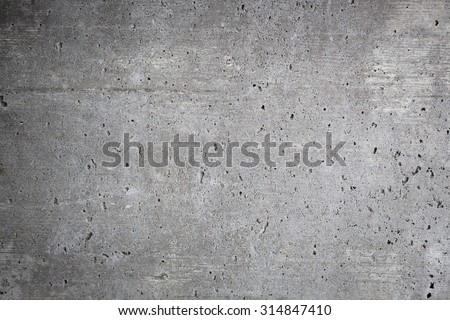 Worn concrete wall background texture outdoors - stock photo