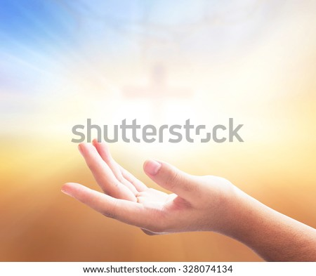 Worship concept. Hand, Raise, Life, Chorus, Song, Pray, Praise, Autumn, Cross, Over, Xmas Day, Sky, Give, Adore, Right, Belief, Trust, Music, Peace, Death, Bless, Help, Mercy, Grief, Vote, God, Person