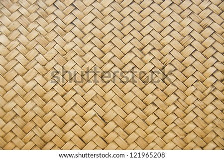 woven bamboo patterns