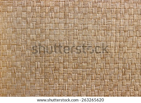 woven bamboo texture  - stock photo