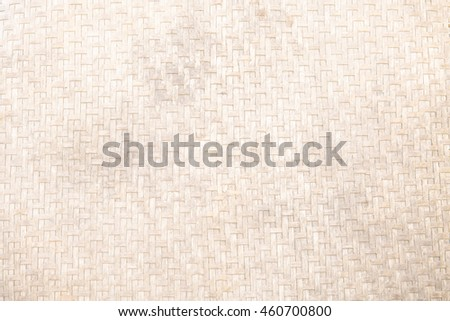Woven bamboo texture background