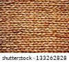 Woven Basket texture - stock photo
