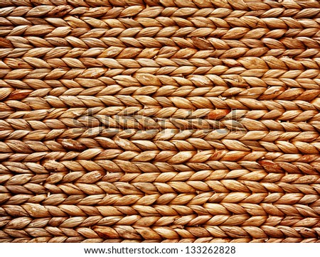 Woven Basket texture - stock photo