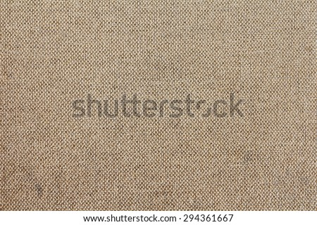 Woven canvas texture background. Patterns Floor Chair Organic Fabric Brown Sack Sepia Pastel Gray White Cotton Linen Craft Parchment Light Beech Top Vintage Above Clothes Scene Advertising Design