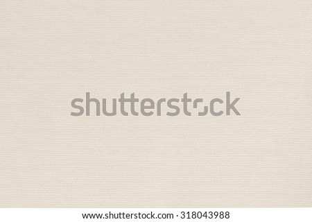 Woven cotton linen fabrics textile textured background in light beige cream tan color tone: Flax satin cloth detail pattern wallpaper backdrop in creme beige brown toned colour     - stock photo
