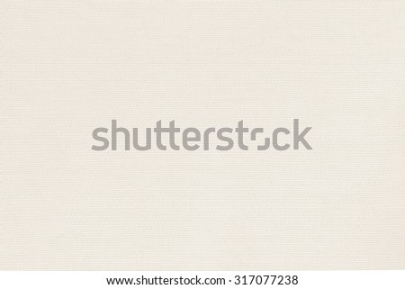 Woven cotton linen fabrics textile textured background in light cream beige color tone: Flax satin cloth detail pattern wallpaper backdrop in creamy white toned colour     - stock photo