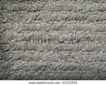 Woven fibers. - stock photo