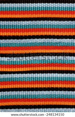 Textile Detail Seamless Background Mexican Color Texture