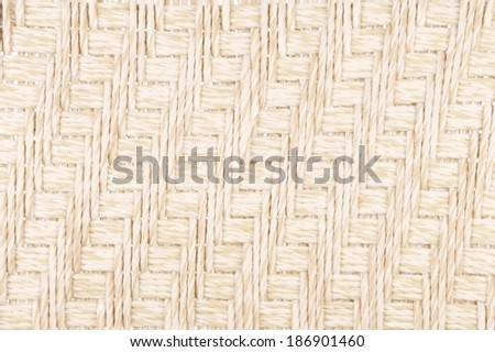Woven Light Brown Nylon Cord as a Background or Wallpaper - stock photo