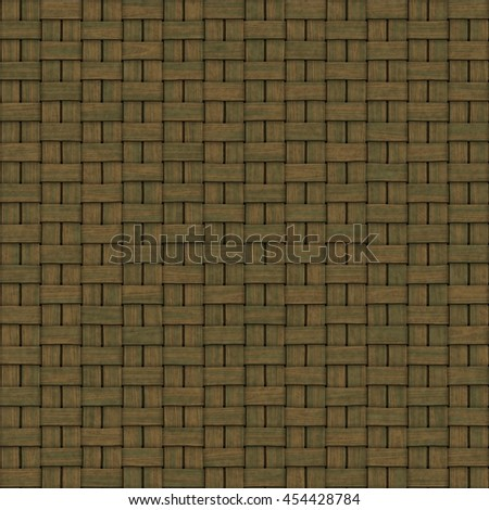 Woven texture generated. Seamless pattern. - stock photo