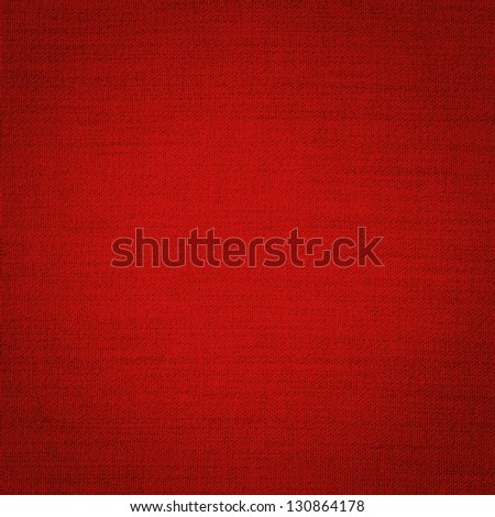 woven texture in red - stock photo