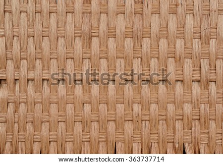 woven wood wall texture background