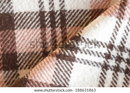 woven wool textile