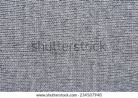 Woven wool white fabric texture - stock photo