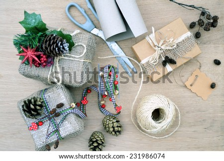 wrapping - stock photo