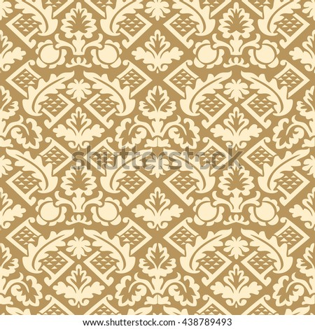 Wrapping floral damask seamless wallpaper website tablecloth leaves repeating foliage western drapery triangle decor, flower organic luxury tiled old revival venetian fashion fabric elegant geometric