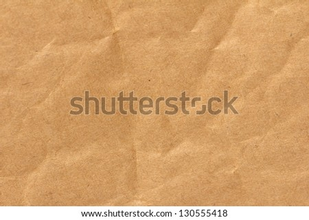 wrinkled paper as a background - stock photo
