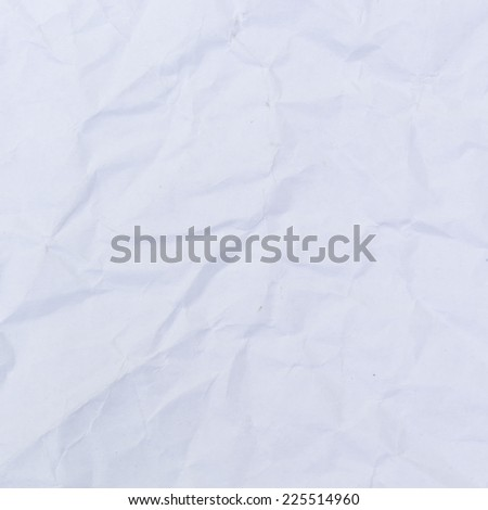 Wrinkled paper background. - stock photo