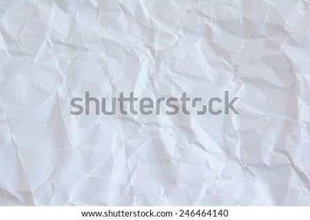 wrinkled paper texture background - stock photo