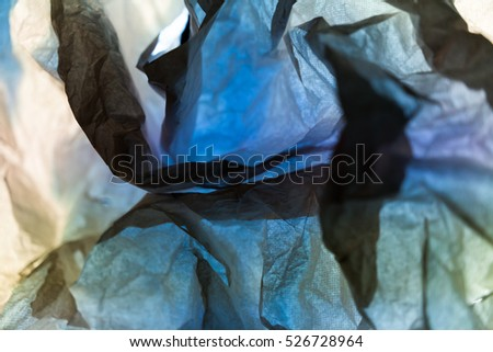 Wrinkled paper texture, colorful background