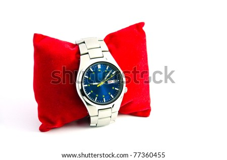 Wristwatch for men to wear their are fashionable - stock photo