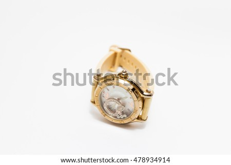 wristwatch White background