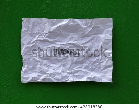 write on paper - stock photo