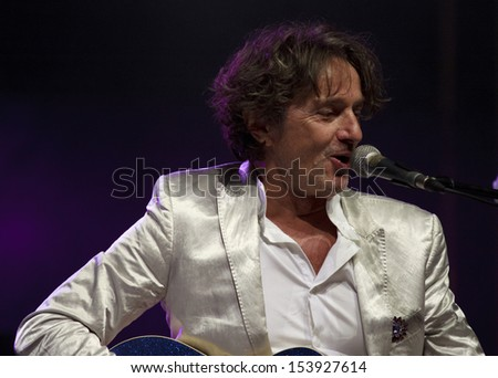 WROCLAW, POLAND - AUGUST 31:  Goran Bregovic concert on August 31, 2013 in Wroclaw