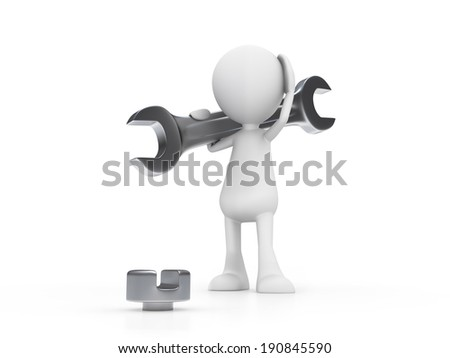 Wrong Tool - stock photo