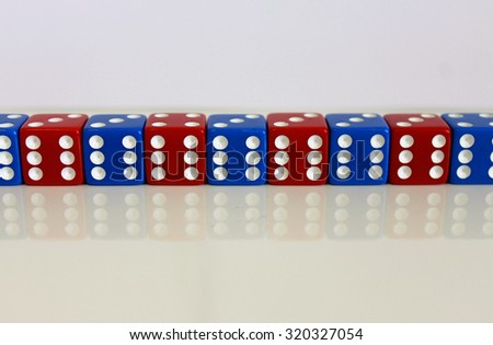 rot blau spiel