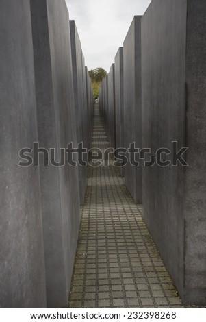 ww2 memorial in central berlin - stock photo