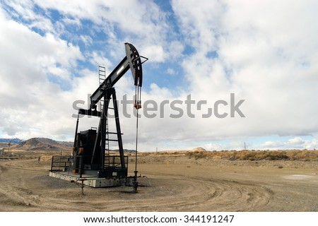 Wyoming Industrial Oil Pump Jack Fracking Crude Extraction Machine