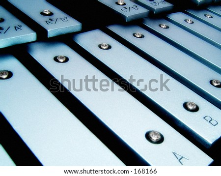 X is for Xylophone - stock photo