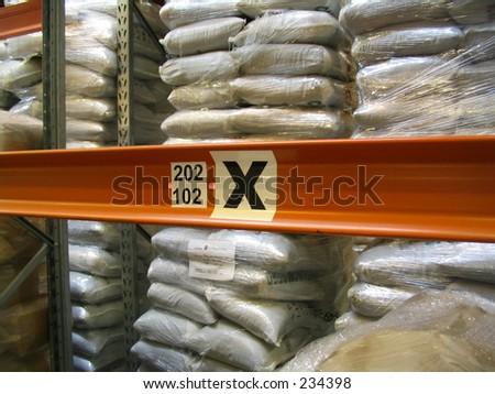 x marks the spot - stock photo