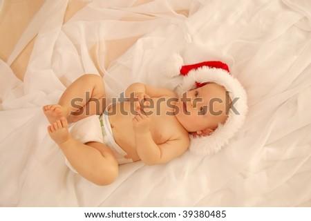X-Mas Baby - stock photo