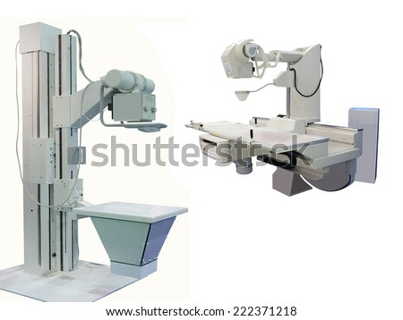 X-ray apparatus - stock photo