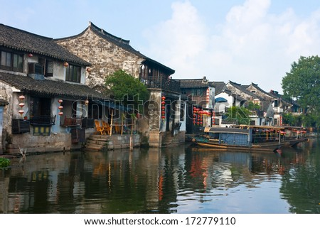 Xi tang ancient town,It is first batch of Chinese historical and cultural town, located in Zhejiang Province, China.