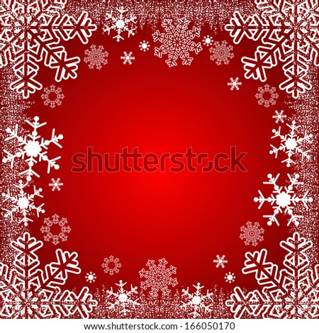 Xmas Background or winter seasonal Background, where you can place your information. Raster version. - stock photo