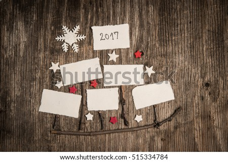 Xmas or new year composition with holiday decoration