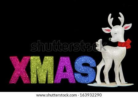 Xmas Reindeer - stock photo
