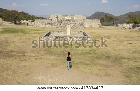 Xochicalco. Archaeological site in Mexico