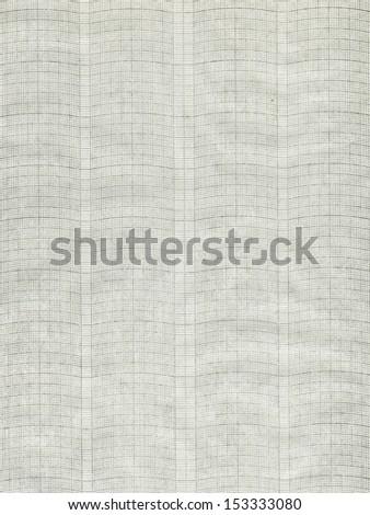 XXL millimeter paper, graph paper, plotting paper.  - stock photo