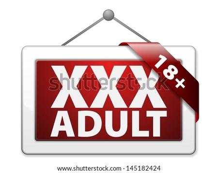 video adult display sign bcfya